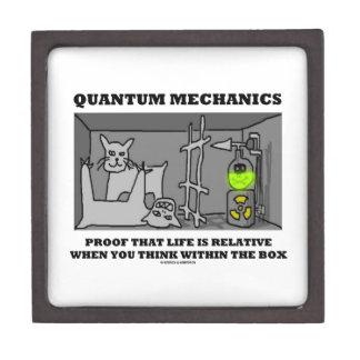 Quantum Mechanics Proof That Life Is Relative Keepsake Box