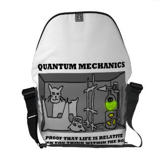 Quantum Mechanics Proof That Life Is Relative Messenger Bags