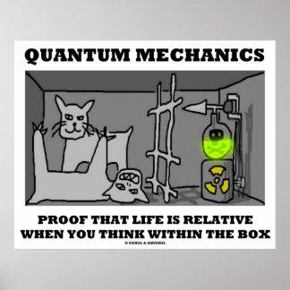 Quantum Mechanics Proof That Life Is Relative Poster