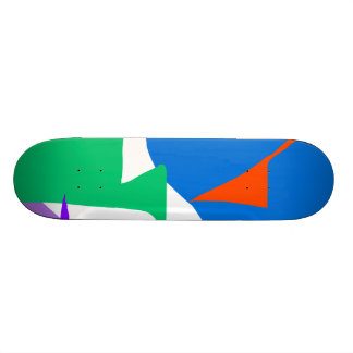 Quantum Particle Beautiful Debris Nature Invention Skateboard Decks