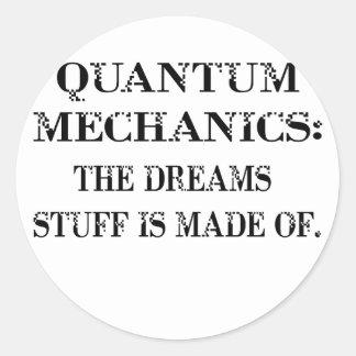 Quantum Pegatina Redonda