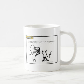 Quantum Physic cartoon mug
