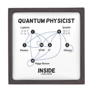 Quantum Physicist Inside (Higgs Field Higgs Boson) Gift Box