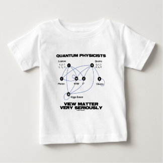Quantum Physicists View Matter Very Seriously Baby T-Shirt