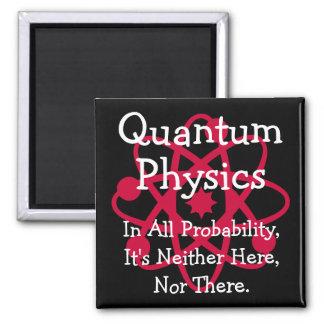 Quantum Physics 2 Inch Square Magnet