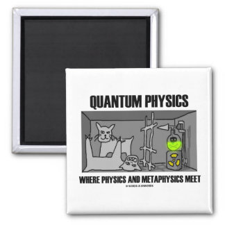 Quantum Physics Where Physics And Metaphysics Meet Refrigerator Magnets