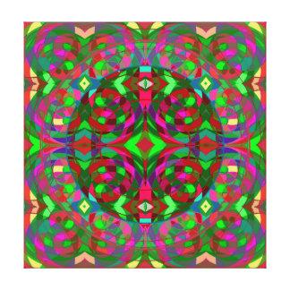 Quantum Portal C Canvas Print
