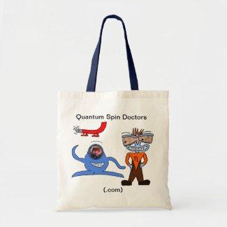 Quantum Spin Doctors Tote bag
