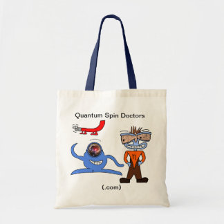 Quantum Spin Doctors Tote Canvas Bags