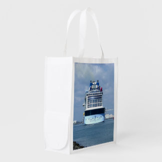 Quantum Stern Two Sided Reusable Grocery Bag