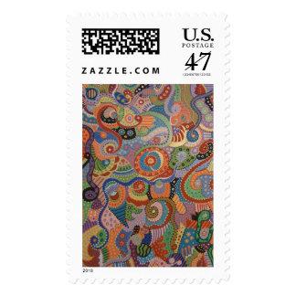 Quantum Strands Stamp
