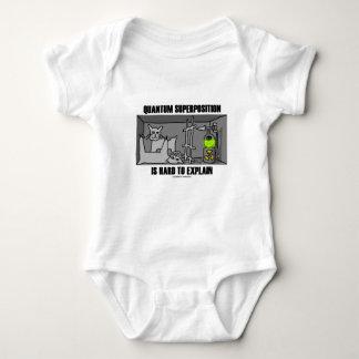 Quantum Superposition Is Hard To Explain (Physics) Baby Bodysuit