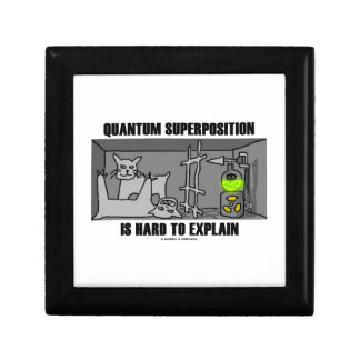 Quantum Superposition Is Hard To Explain (Physics) Gift Box