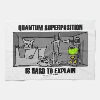 Quantum Superposition Is Hard To Explain (Physics) Towel