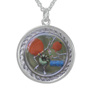 Quantum Witch!!! CQR Ammy Harmonic Resonance Sterling Silver Necklace