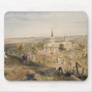 Quarantine Cemetery and Church, plate from 'The Se Mouse Pad