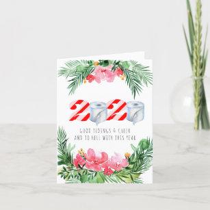 Covid 19 Themed Christmas Cards Zazzle