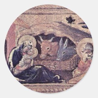 Quaratesi Polyptych-Side Panel: St. Nicholas Stickers