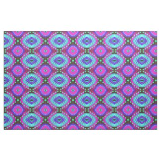 Quaraun The Insane Style Blue Purple Gypsy Cloth Fabric