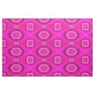 Quaraun The Insane Style PinkMedallion Gypsy Cloth Fabric