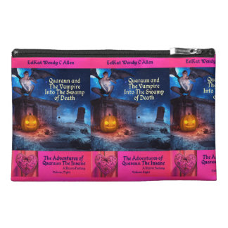 Quaraun & the Vampire Into The Swamp Book Cover Travel Accessory Bag