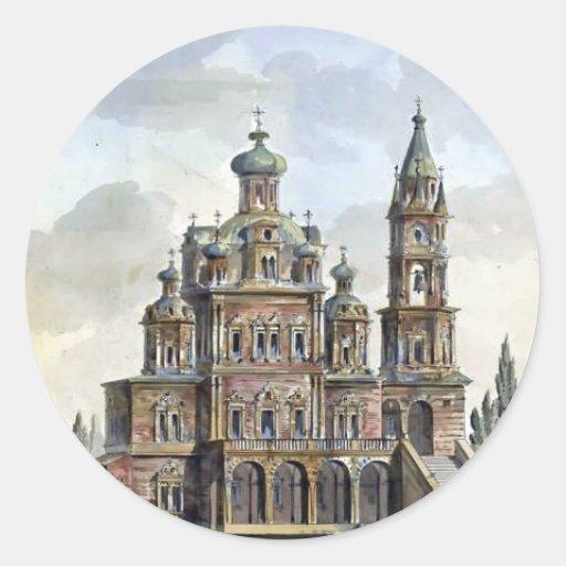 Quarenghi-Iglesia de Giacomo de la suposición en P Etiquetas