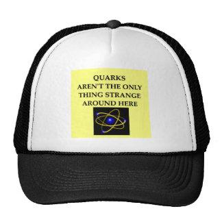 quark joke trucker hat