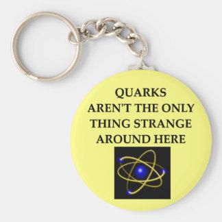quark joke keychains