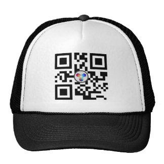 Quark QR Code Trucker Hat   Quarkcoin