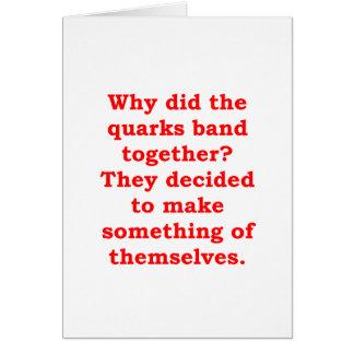 quarks card