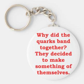 quarks key chain