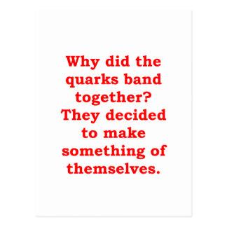 quarks postcard