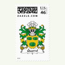 Quarrel Family Crest Stamps
