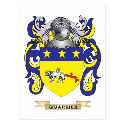 Quarrier Coat of Arms (Family Crest) Postcards