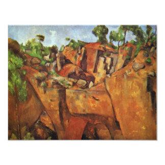 Quarry Bibémus By Paul Cézanne (Best Quality) Announcement