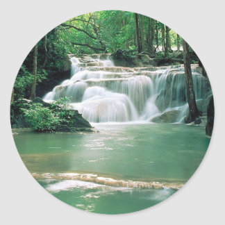 Quarry Falls Classic Round Sticker