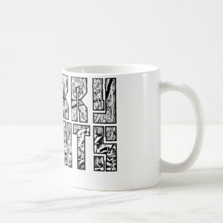 Quarry Heights Jungle Mug Design (Blk Outline)