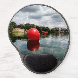 Quarry Lake Swim - Austin Texas Gel Mouse Pad