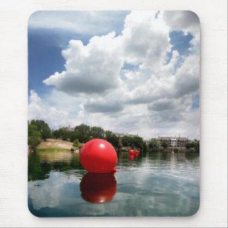 Quarry Lake Swim - Austin Texas Mouse Pad