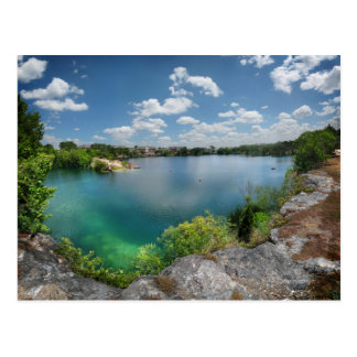 Quarry Lake Swimming Hole - Austin Texas Postcard