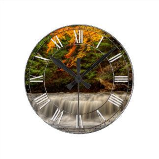 Quarry Rcok Falls Round Clocks