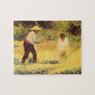 Quarrymen by Georges Seurat Jigsaw Puzzle