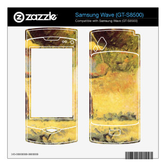Quarrymen by Georges Seurat Decals For Samsung Wave