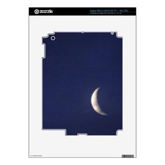 Quarter Bluemoon iPad 3 Skin