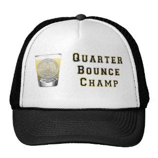 Quarter Bounce BlackGold Trucker Hat