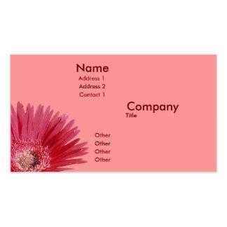 Quarter Daisy Business Card