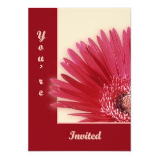 Quarter Daisy Card