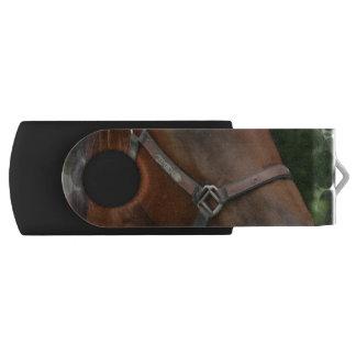 quarter-horse-6 swivel USB 2.0 flash drive