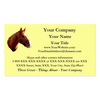 Quarter Horse - business card template