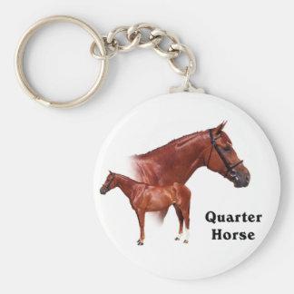 Quarter Horse Keychain